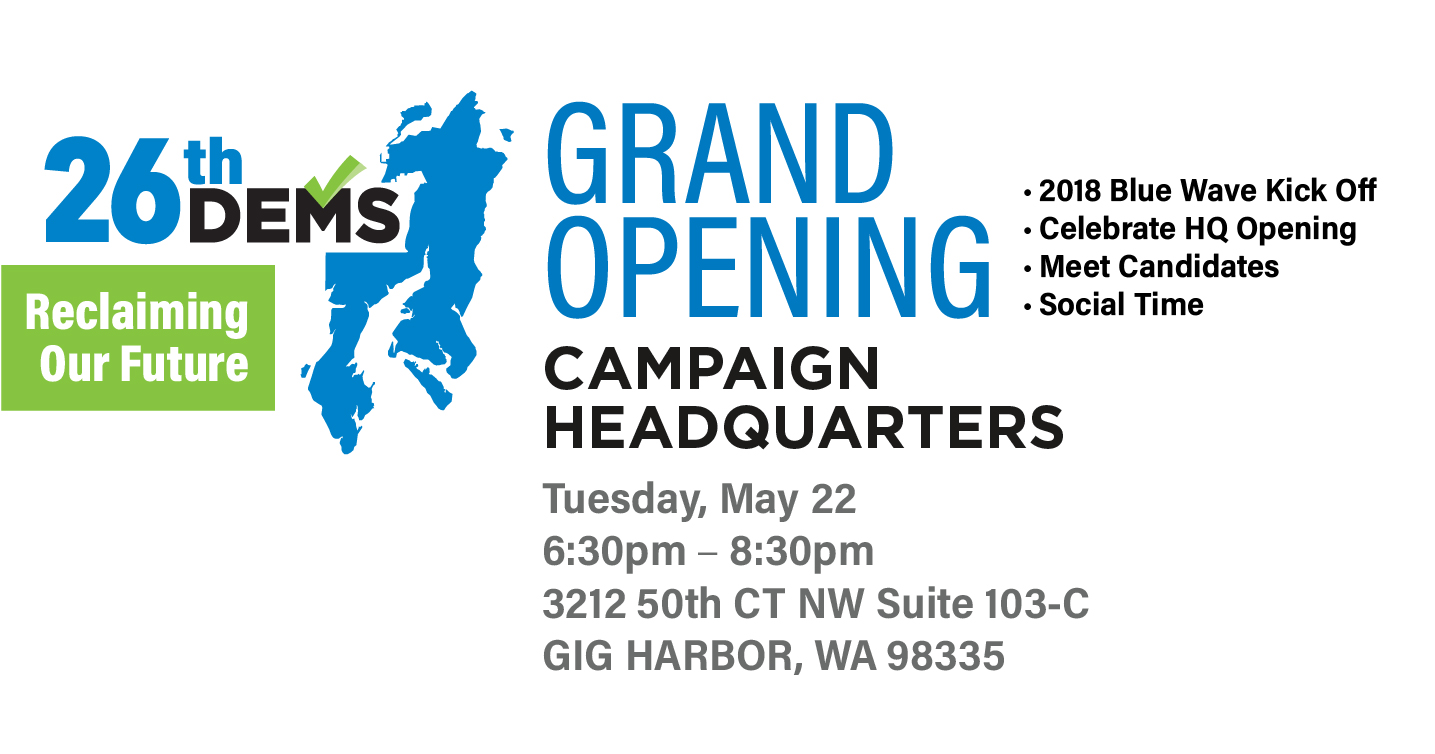 Grand Opening – 26th Dems Campaign Headquarters