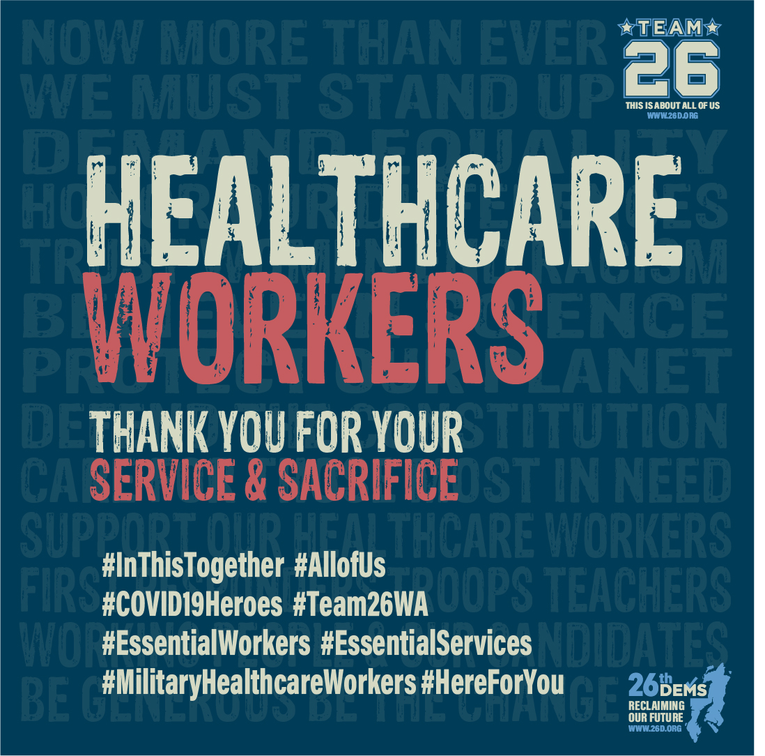 HEALTHCARE WORKERS Thank you for your service and sacrifice We may have taken our healthcare workers for granted in the past, but now their heroism is undeniable and obvious for all to admire and applaud. We are continually astonished by the dedication and bravery of our healthcare workers in the face of grueling, and devastating […]