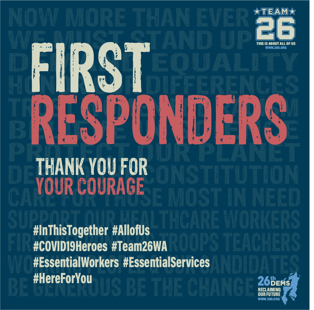 First Responders We Honor You