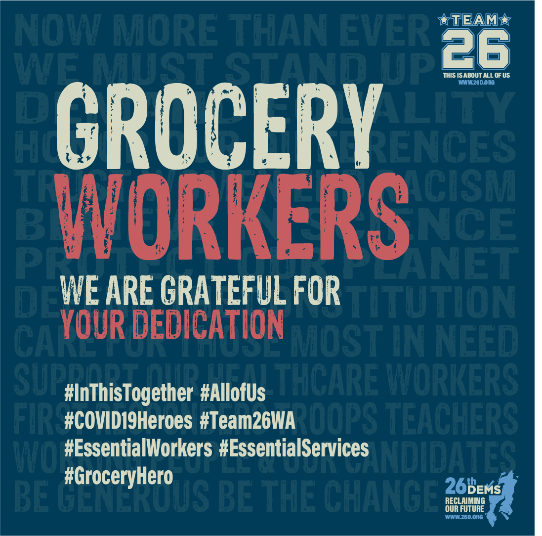 Thank You Grocery Workers