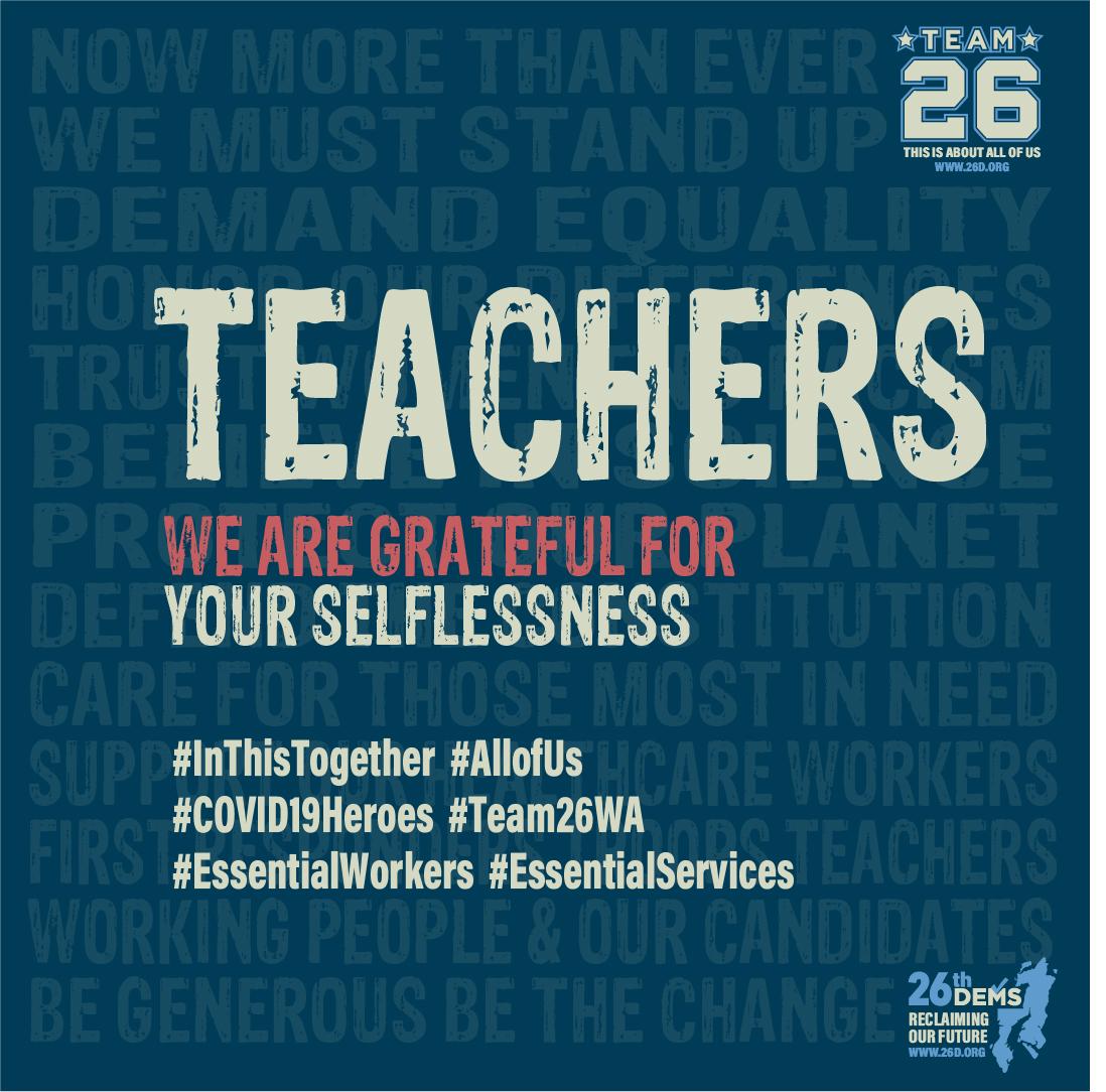 Teachers We Are Grateful