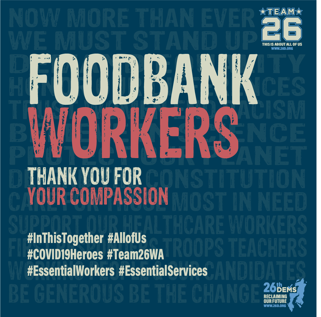 Thank You Food Bank Workers