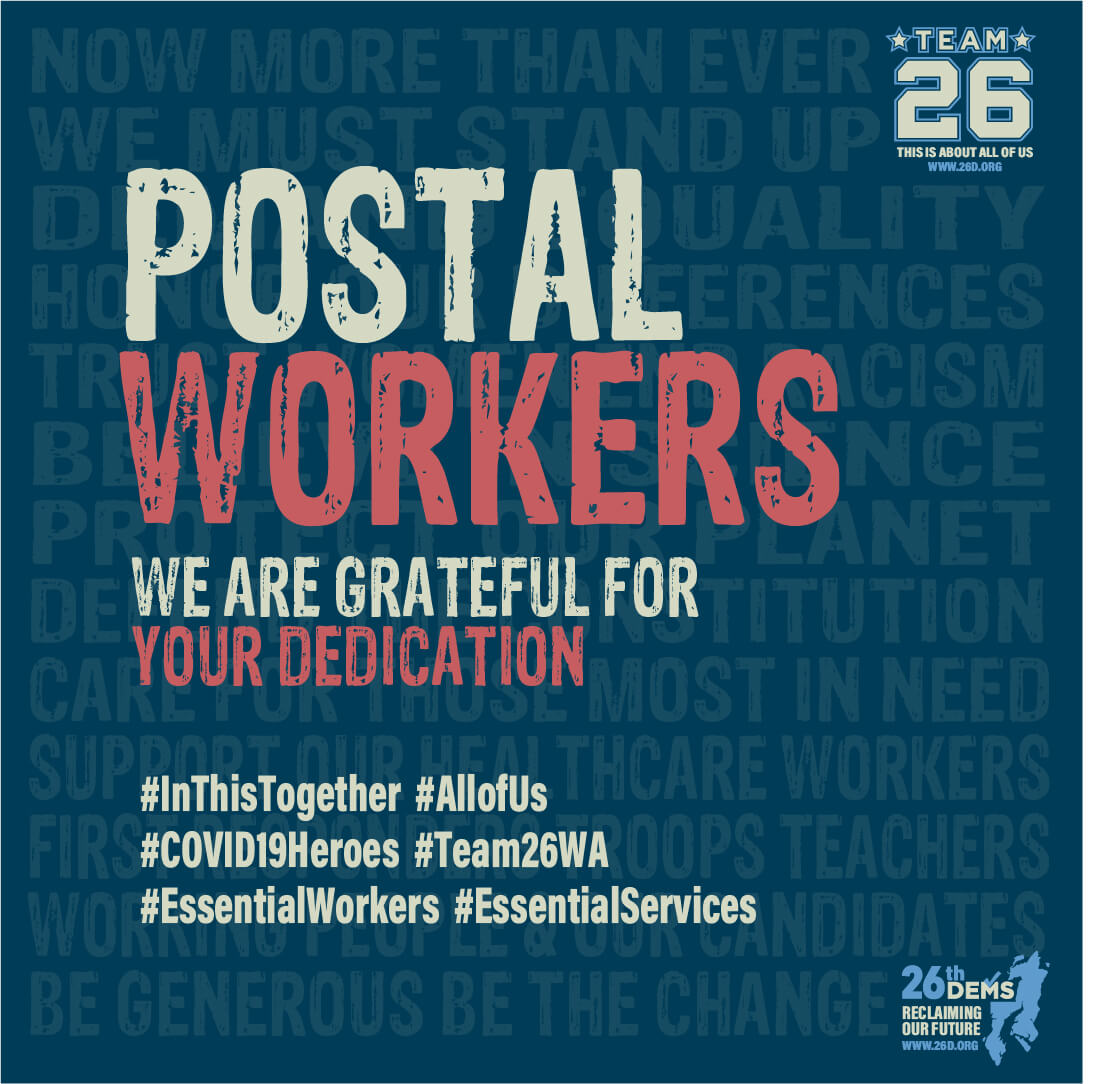 We Support Postal Workers
