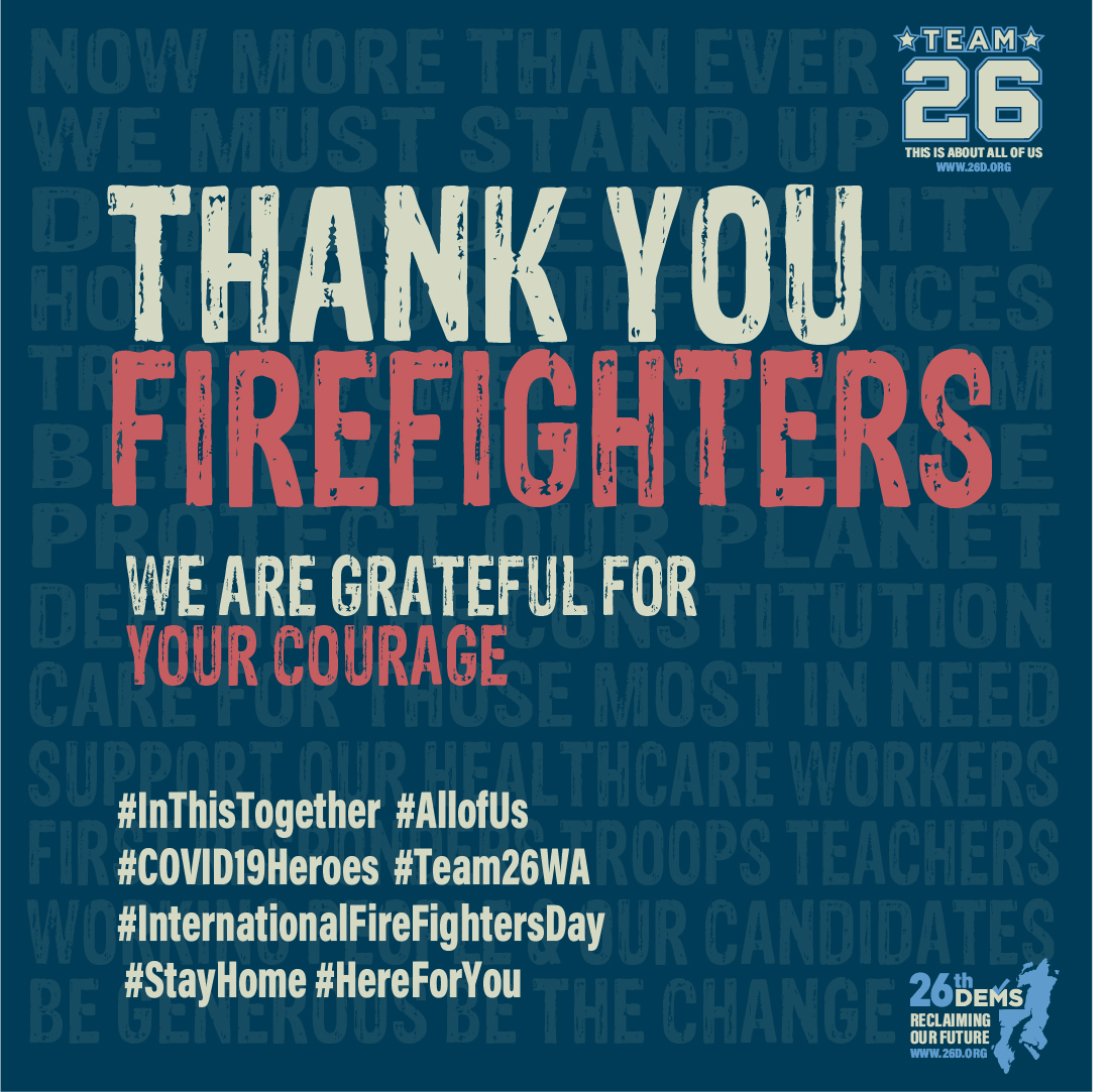 Firefighters We Honor You